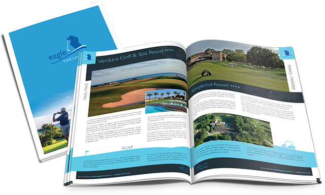 Eagle brochure golf